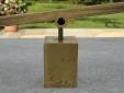 Brass see saw. Detail.