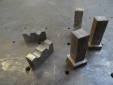 Custom milled cold rolled steel parts for stair railing