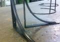 Custom hot rolled steel for shelf brackets