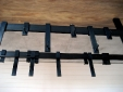 Custom steel pot and pan rack