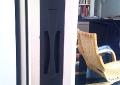 Custom steel recessed door pull